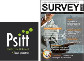 Psitt Etude qualitative Survey Magazine Entretiens